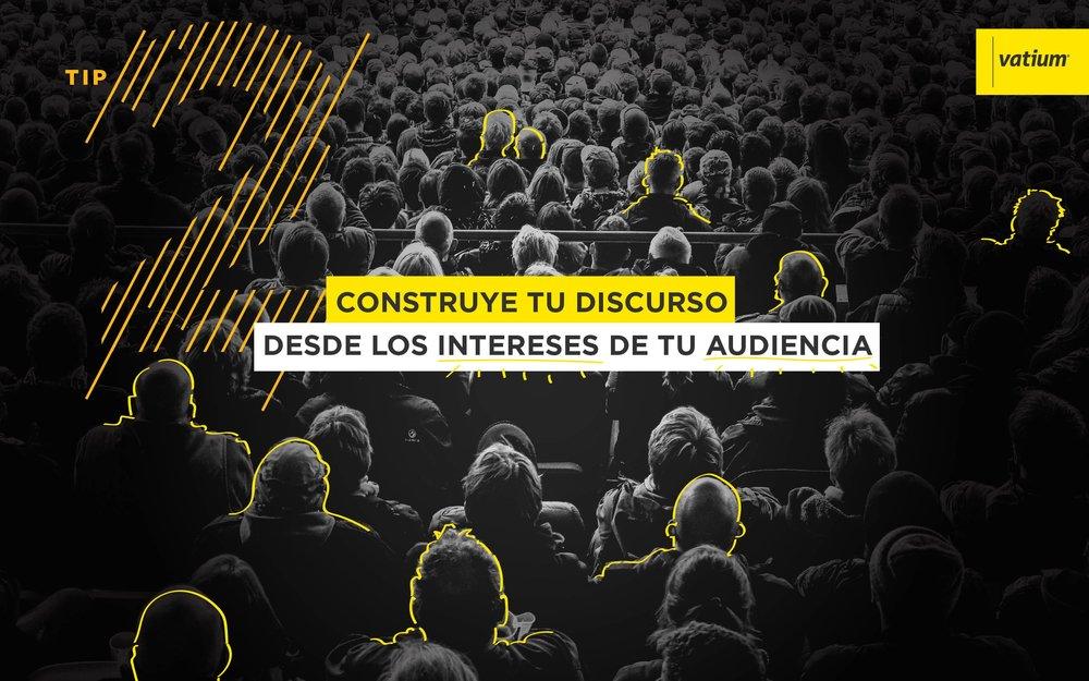 construye discurso desde los intereses de tu audiencia primera visita ventas