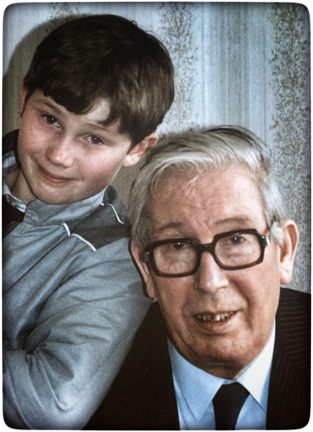 Andy & John Sheridan - circa 1985
