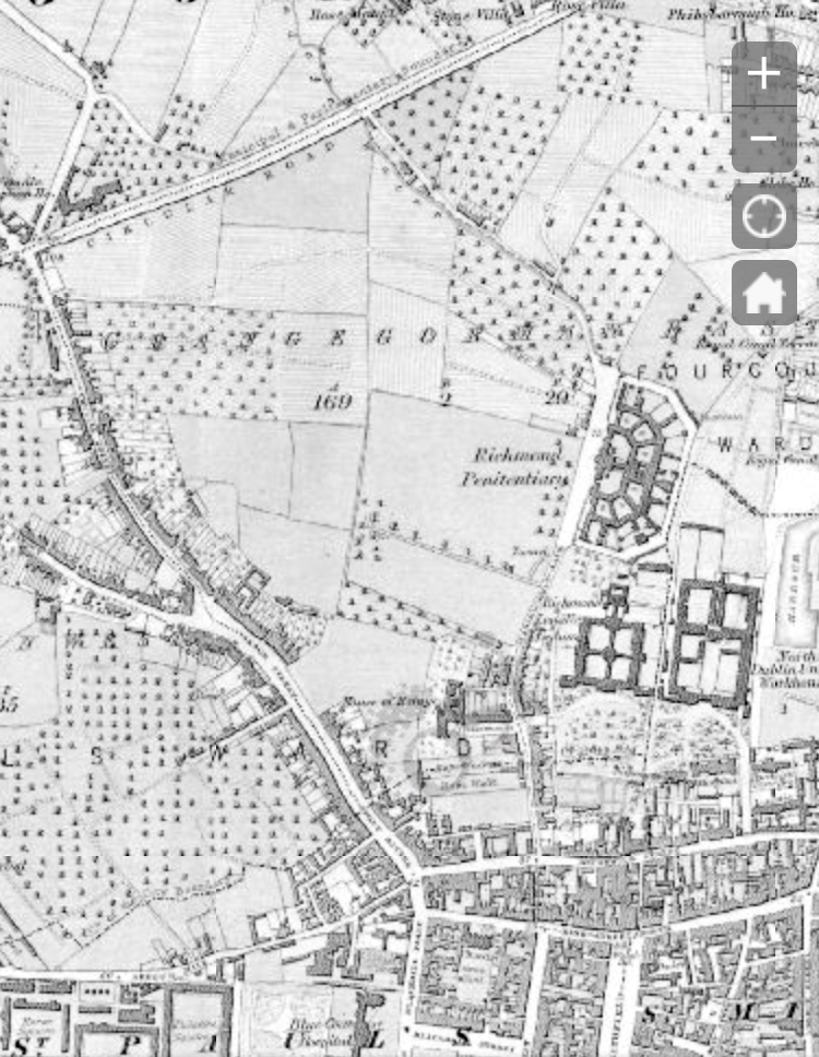 Stoneybatter - 1837-1842 (Ordinance Survey Ireland)
