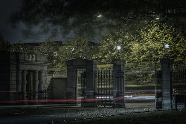 Gates to Constitution Hill