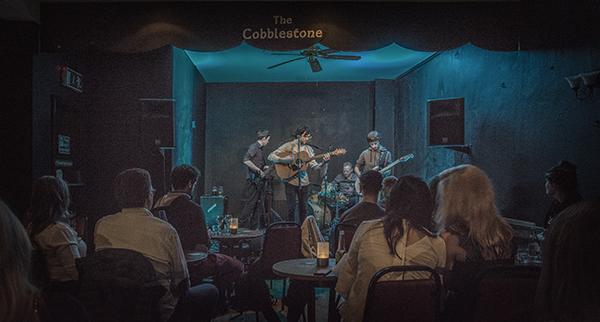 Kieran launched his E.P. last night with a gig in the Cobblestone Backroom, Smithfield