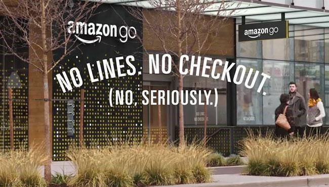Extreme convenience. Amazon Go enables consumers to 'grab and go'.