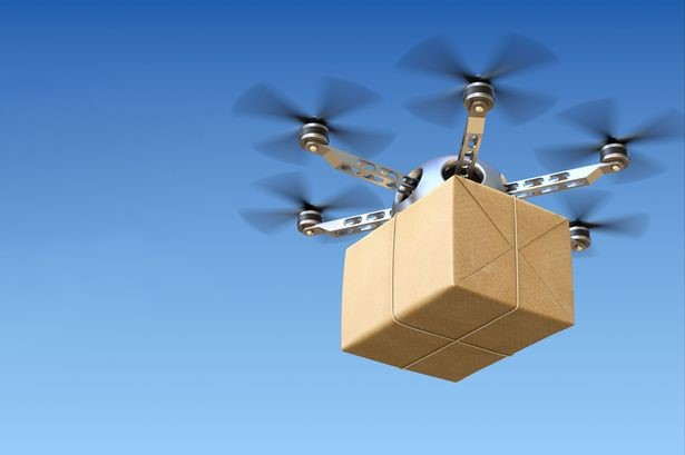 The future will see drone delivery