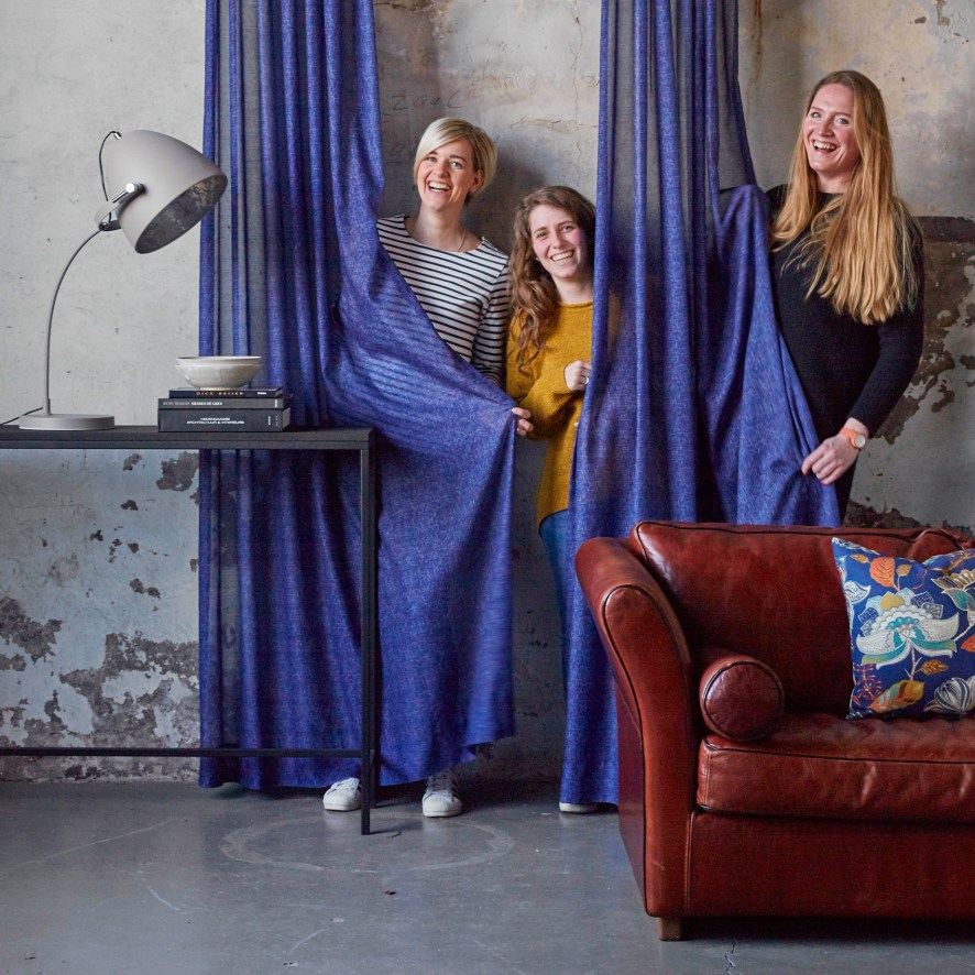 Team Probo: Jannemiek Douma, Jenny Kloosterman en Mirjam Klunder,