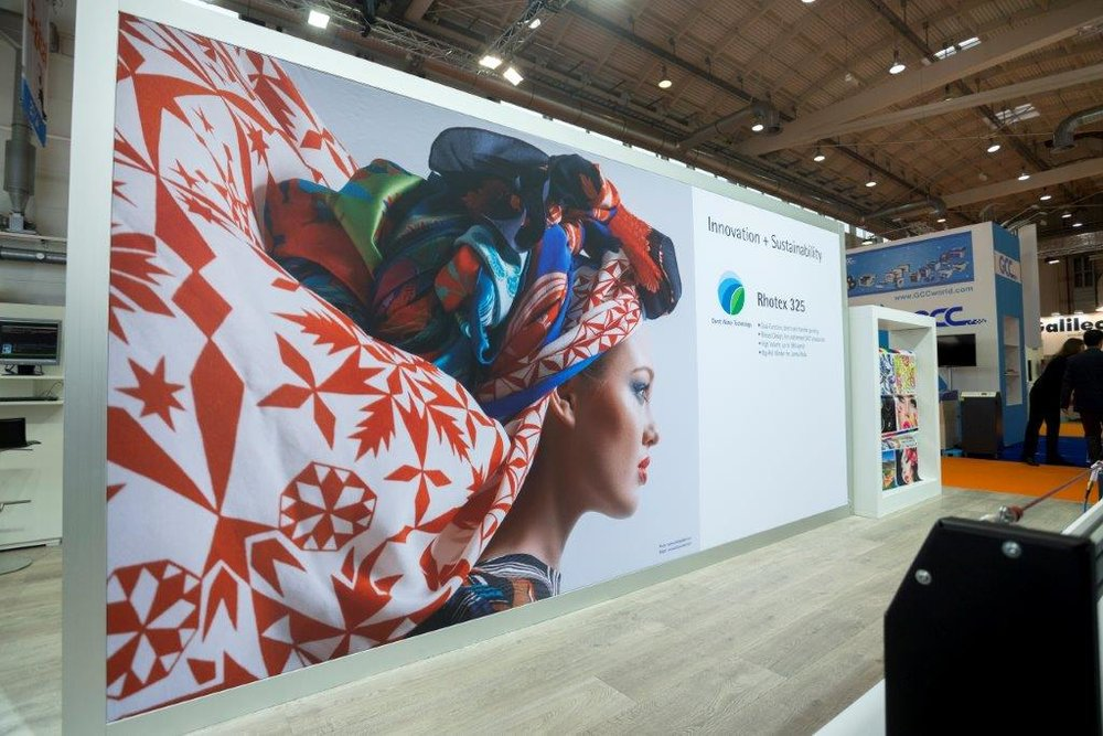 Durst digital textile technology for soft signage