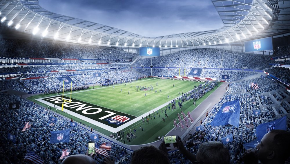 Tottenham Hotspur's new stadium has a 10 year deal with the NFL