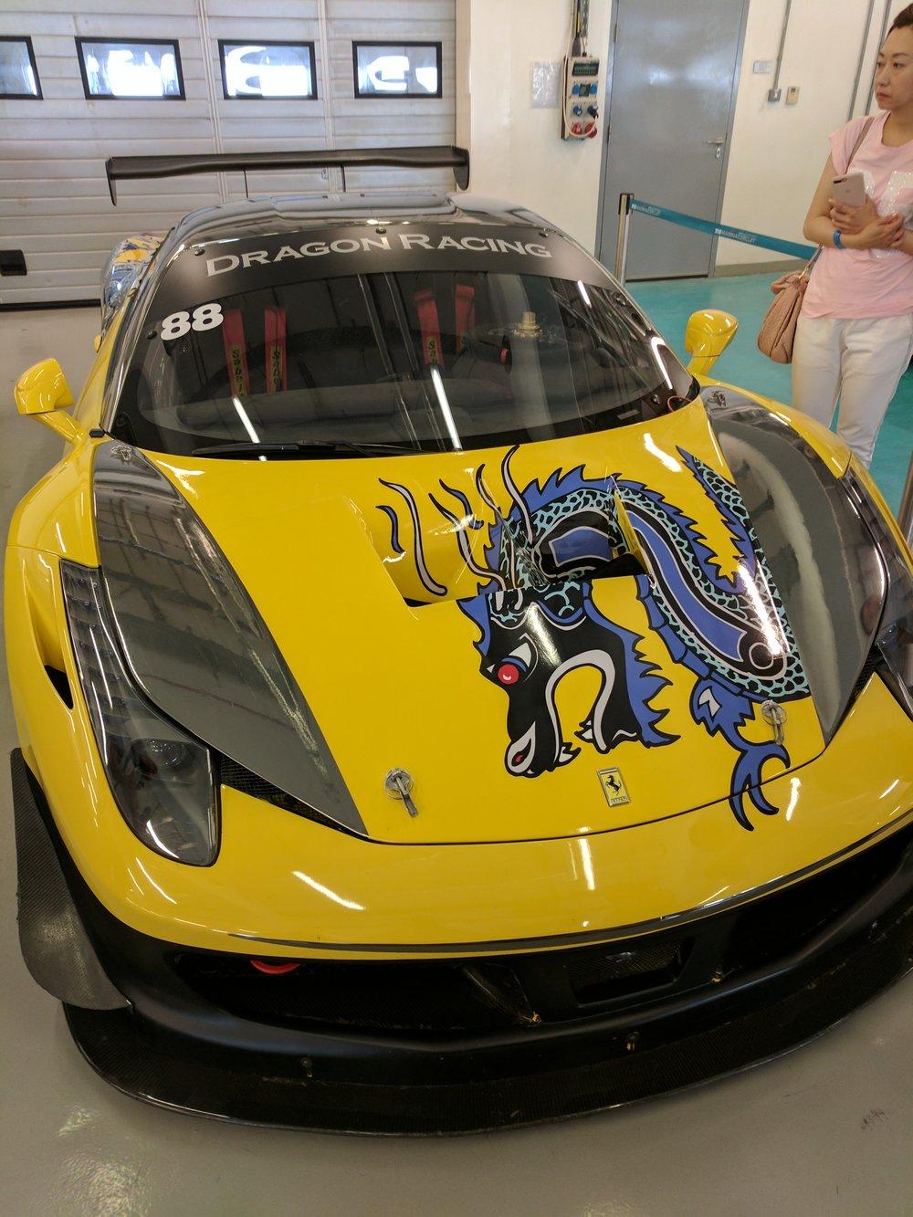 A cool Ferrari
