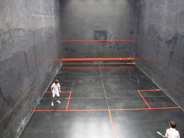 The Rackets court at Radley College