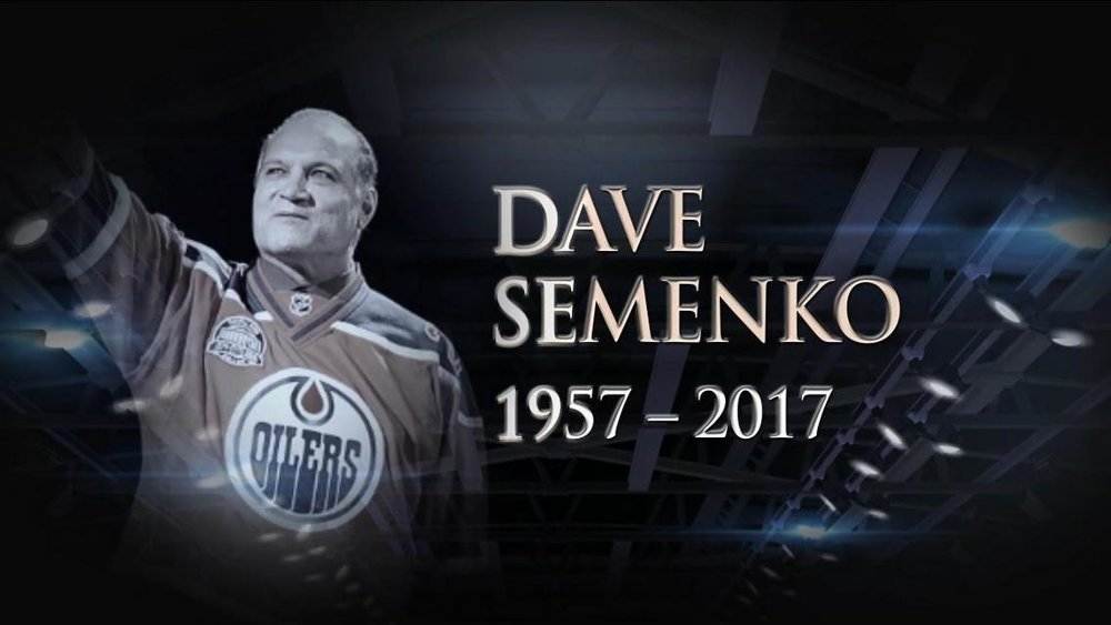 Dave Semenko, Wayne Gretzky's bodyguard and one of the NHL's great enforcers sadly died earlier this year. He features heavily in 'Ice Guardians'