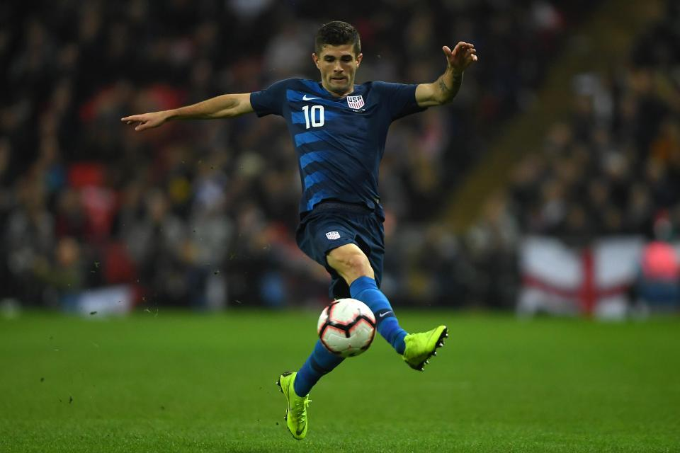 Christian Pulisic - off to Chelsea.