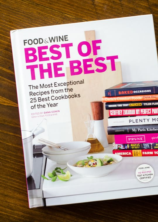 Food & Wine Best of the Best, Volume 18: The Most Exceptional Recipes from the 25 Best Cookbooks of the Year – $29 on Amazon.com