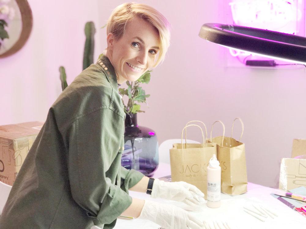 Miriam Jacks ,Make-up Artist und Gründerin von JACKS beauty line