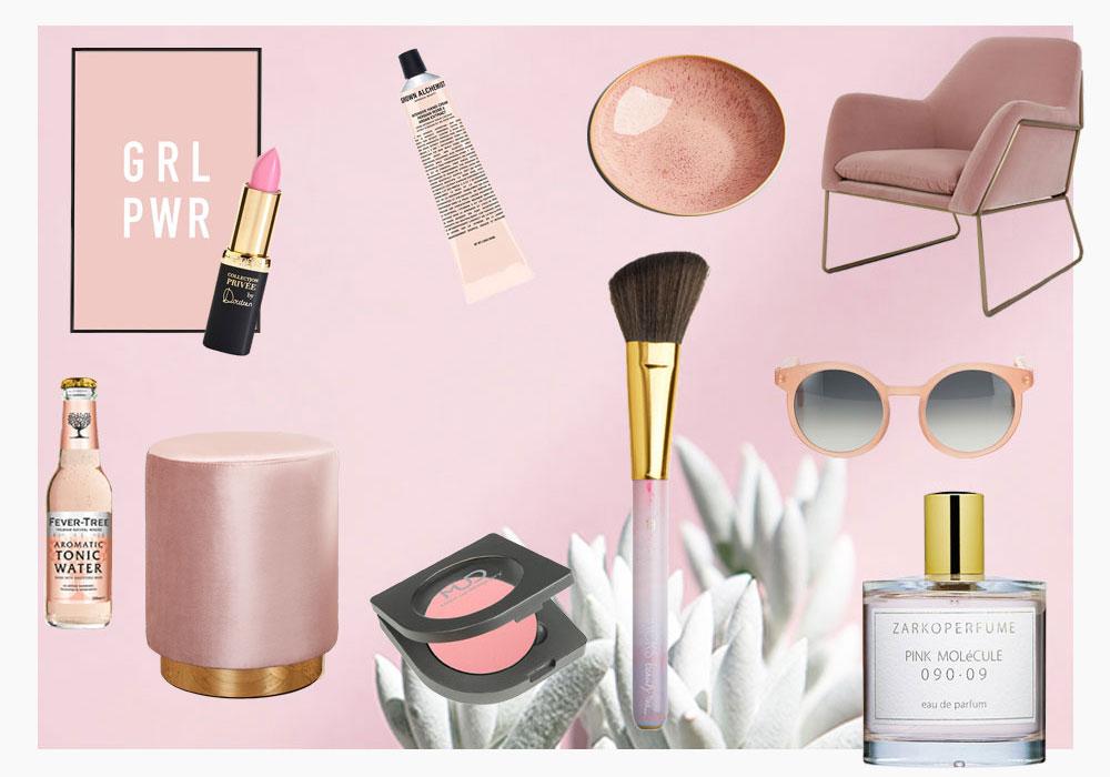 FAVORITE PRODUCTSmust-haves in rosa - Rosafarbene Stücke dürfen 2017 froh und munter eingesetzt werden. Ob in der Kleidung, Kosmetik oder im Wohnzimmer: Rosa ist trendy. Passend hierzu widmen wir uns diese Woche dem Trend Thema und Miriams absoluter Lieblingsfarbe.LOS GEHT'S