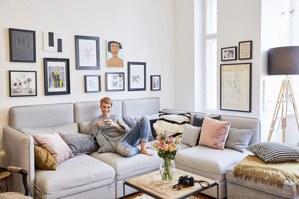 gemutliches zuhause dielenboden, homestory zuhause bei miriam jacks — jacks beauty department, Design ideen
