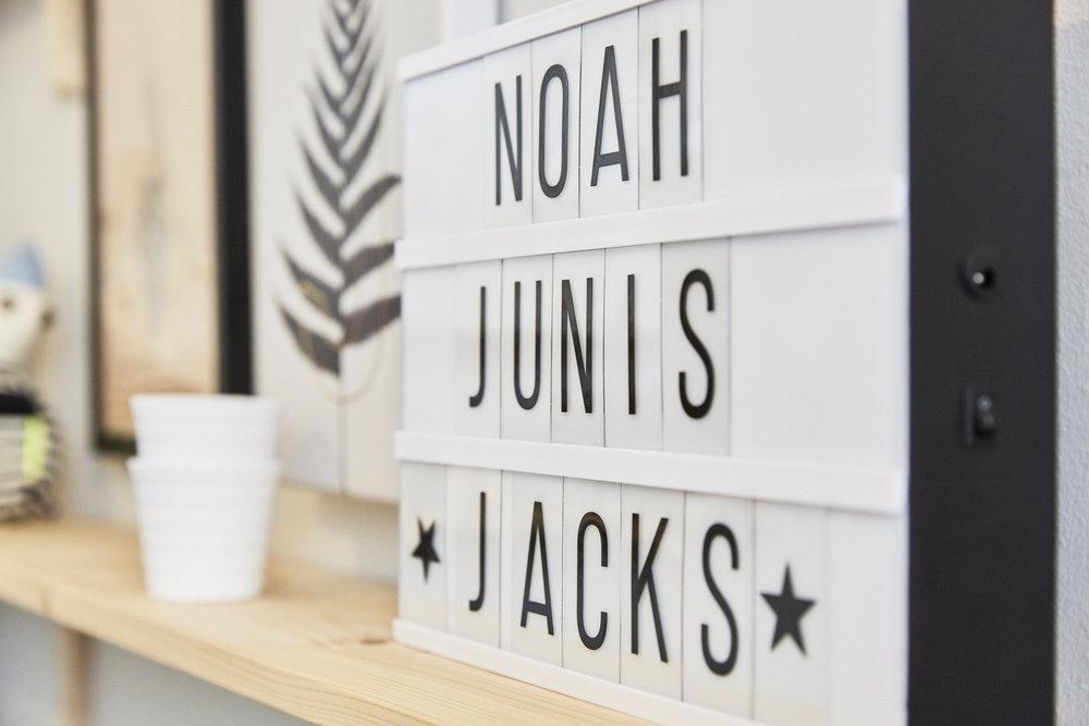 Hier wohnt Noah Junis Jacks