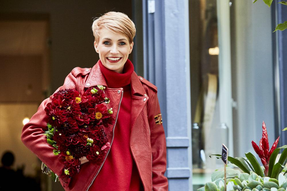 Blumenbett ist einer der schönsten Blumenläden in ganz Berlin wird von Olga Sirotin betrieben