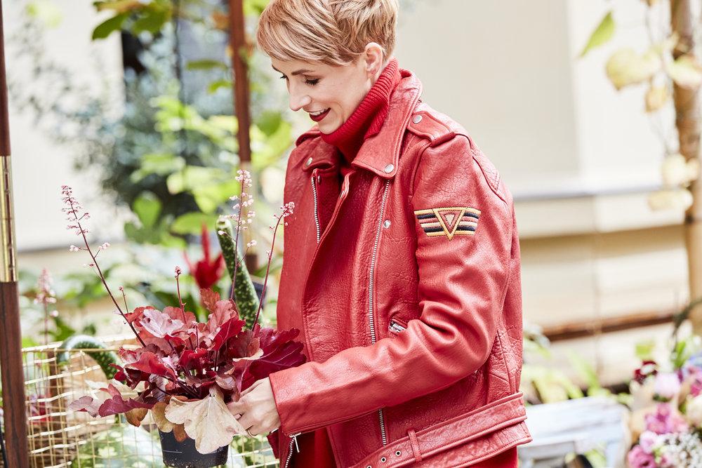 Blumenmitbringsel für Freunde oder Familie