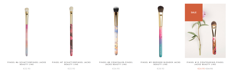 JACKS beauty line Pinsel shoppen