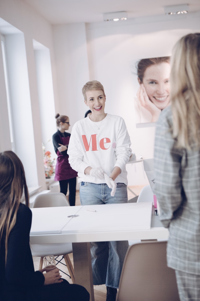 Miriam Jacks beim Zalando Beauty PR Event in München