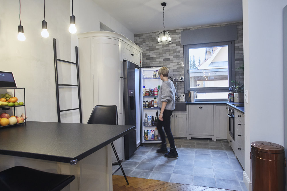 Smeg Kühlschrank Abstand Zur Wand : House of jacks esszimmer & küche u2014 jacks beauty department