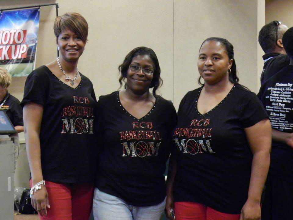 Team Moms ready for the YBOA National Tournament