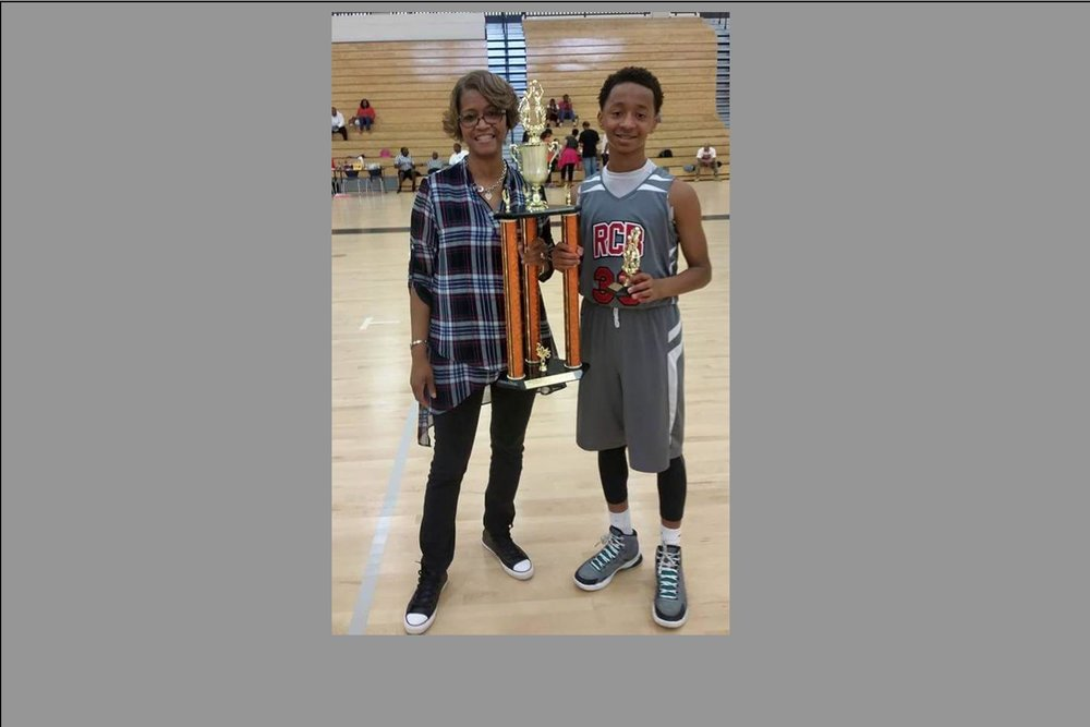 Mom and Son - GBRL 9th Grade Fall League Tournament
