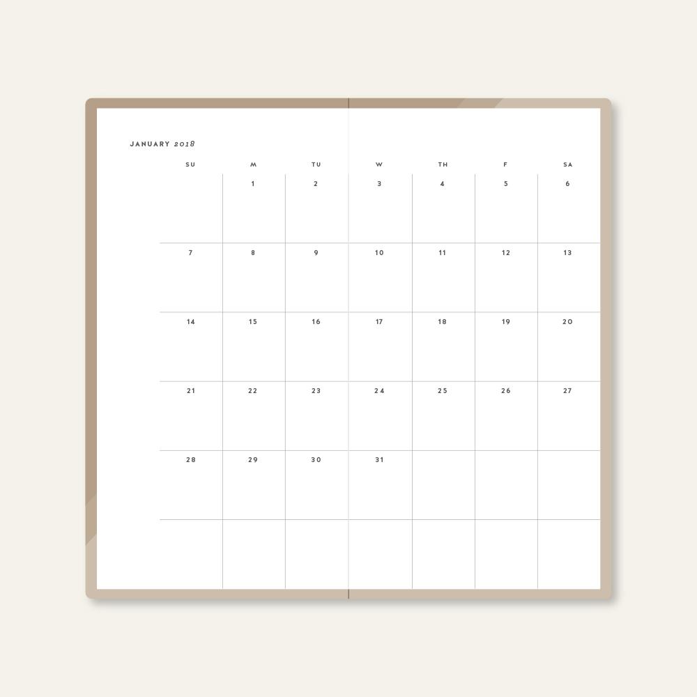 2018 MONTHLY CALENDAR - MINIMALIST - THUMBNAIL 1.jpg