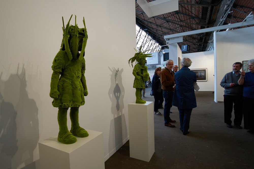 My favorite green Moss People by Kim Simonsson