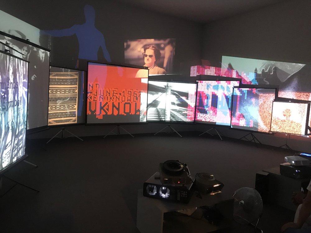 Stan VanDerBeek - Movie Mural