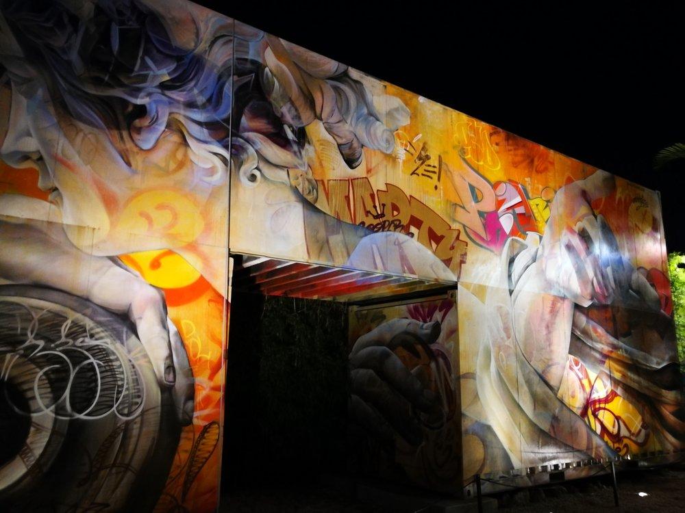 Graffitti at Wynwood Walls