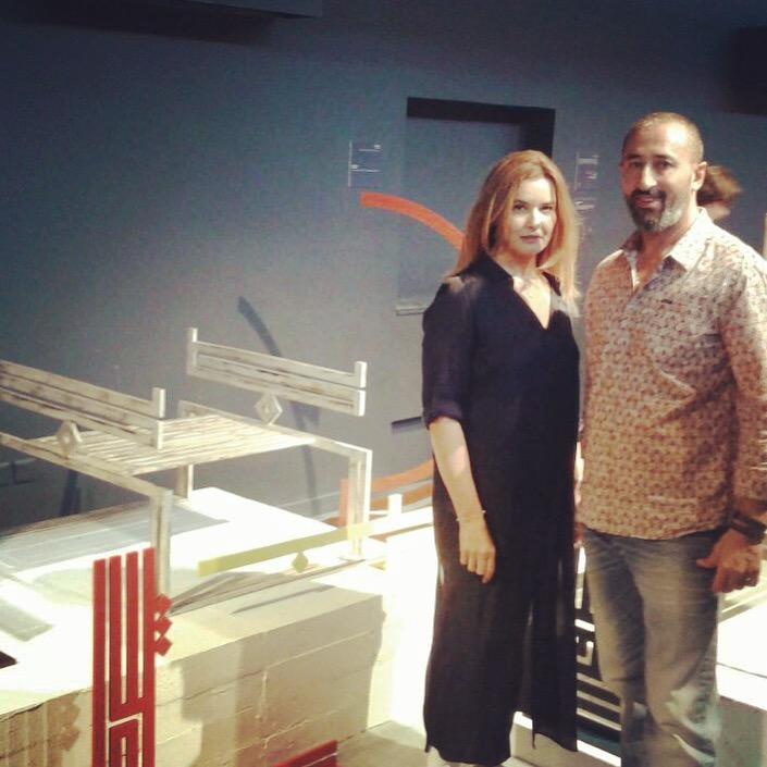 With artist, calligrapher, and designer Hayan Maani