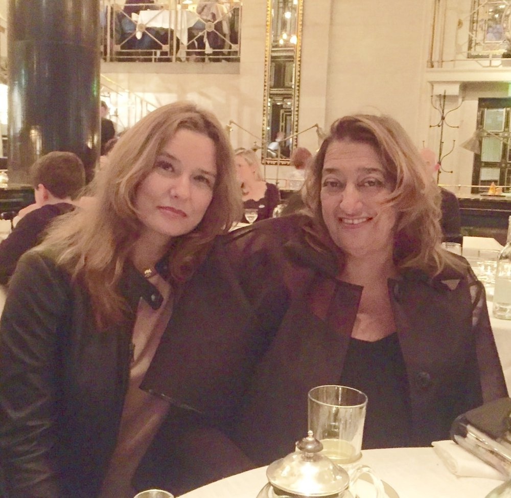 With the magnificent architect Zaha Hadid - May she Rest in Peace