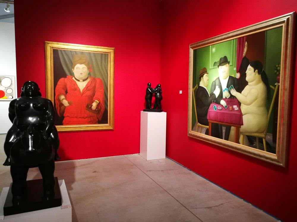 David Benrimon Fine Art gallery at Art Miami