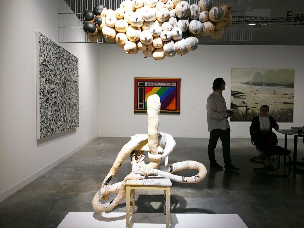 Contemporary Fine Arts gallery at Art Basel Miami