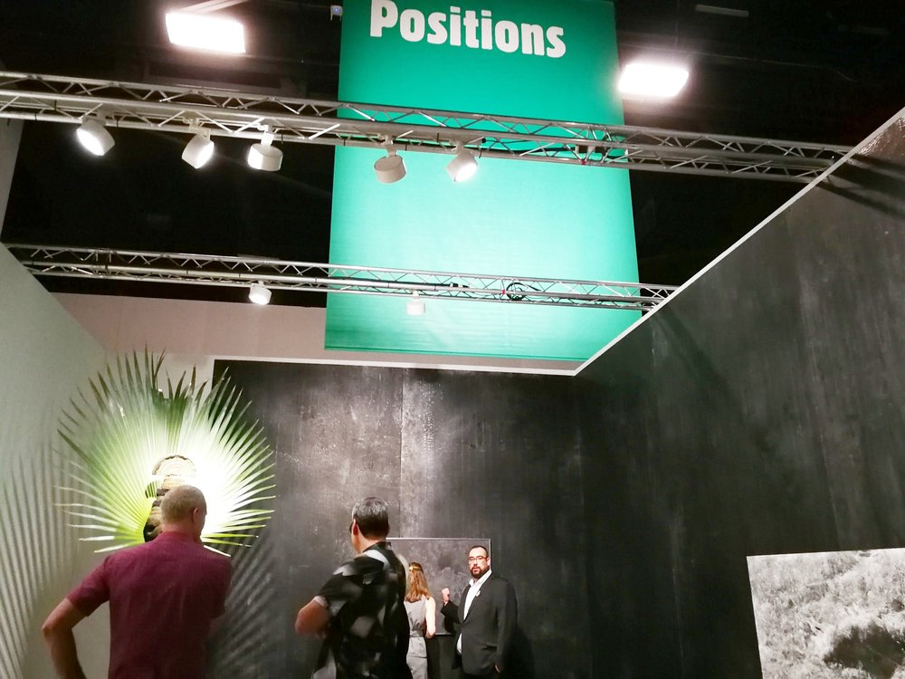 Positions! Great part of Art Basel