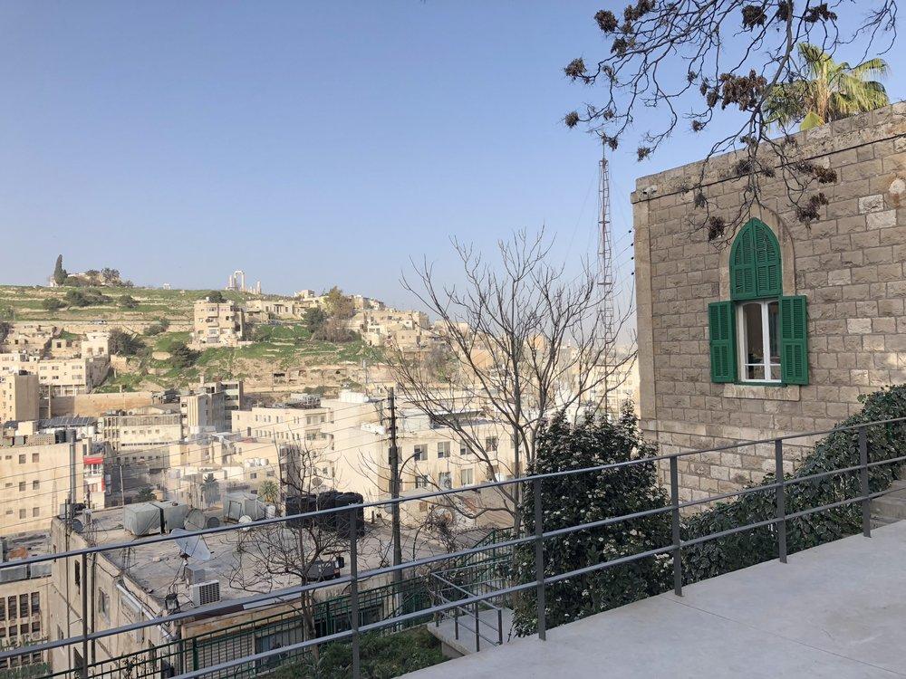 Beautiful views of Amman