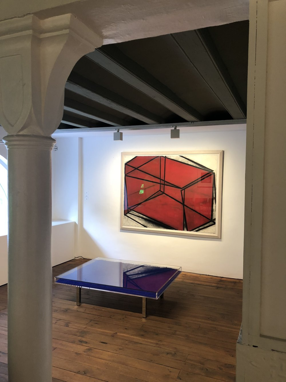 The permanent collection of Galeria Senda