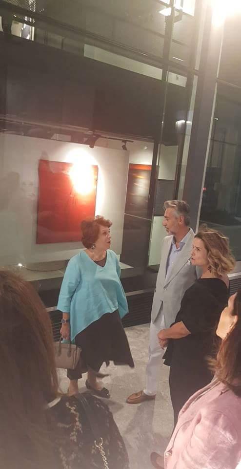 With HRH Princess Wijdan and Saad Audeh