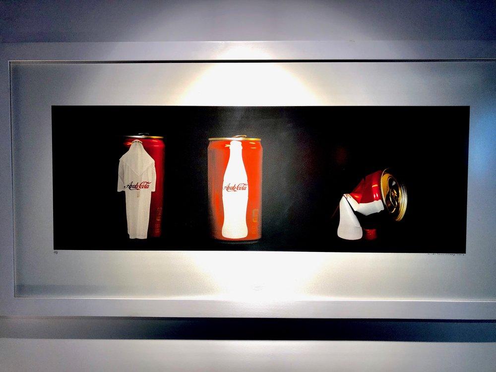 Arab Cola b Iraqi artist Mohammad Al Shammarey