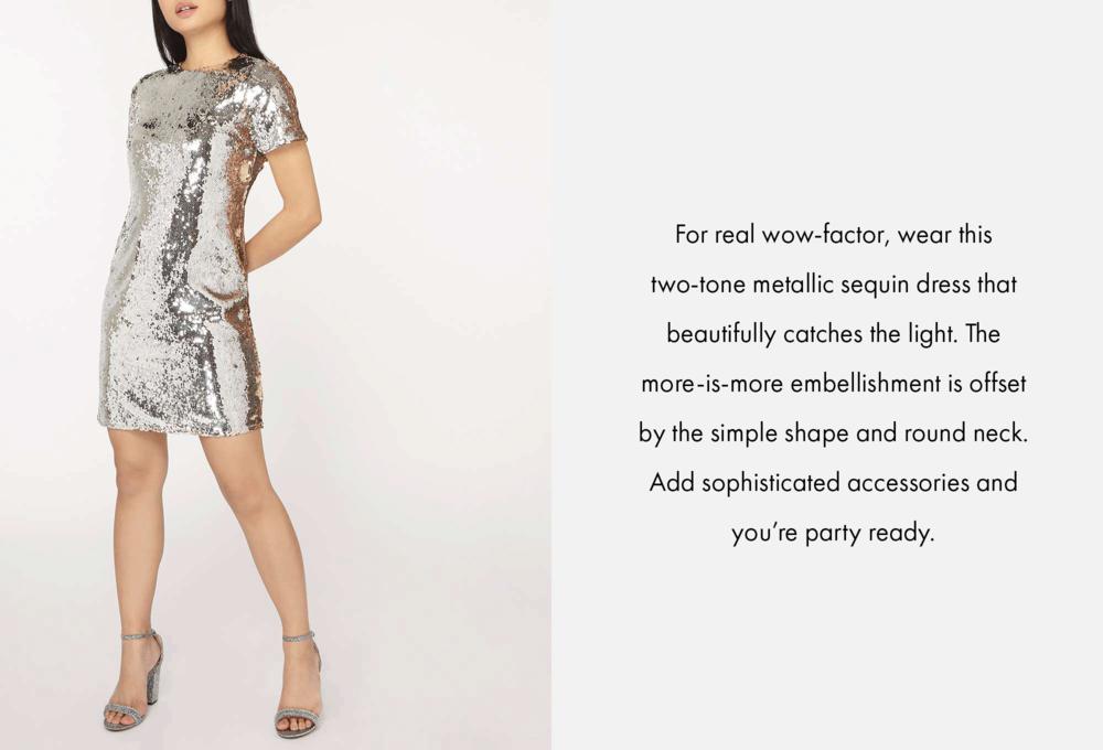 Dorothy Perkins partywear product description 1