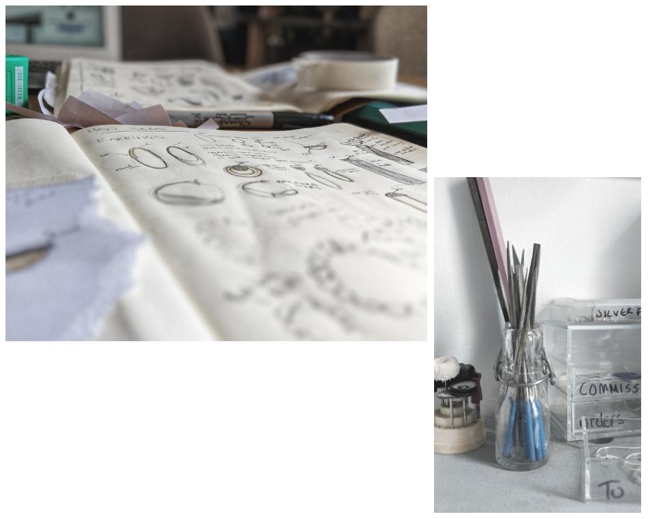 Kirsten Manzi Jewellery - Sketch