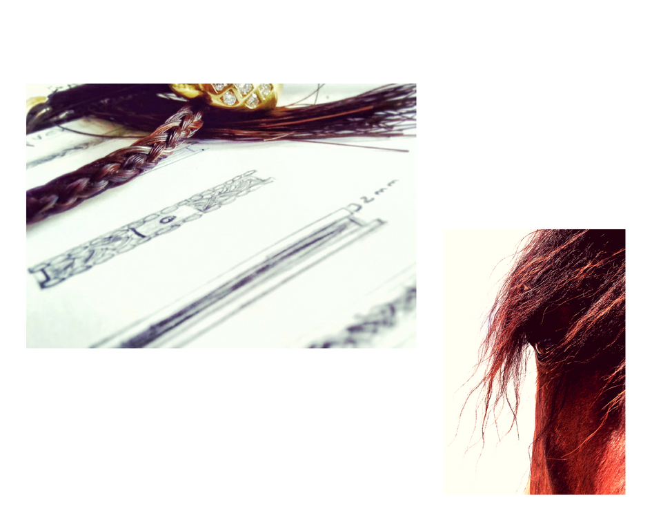 Horsehair ring design