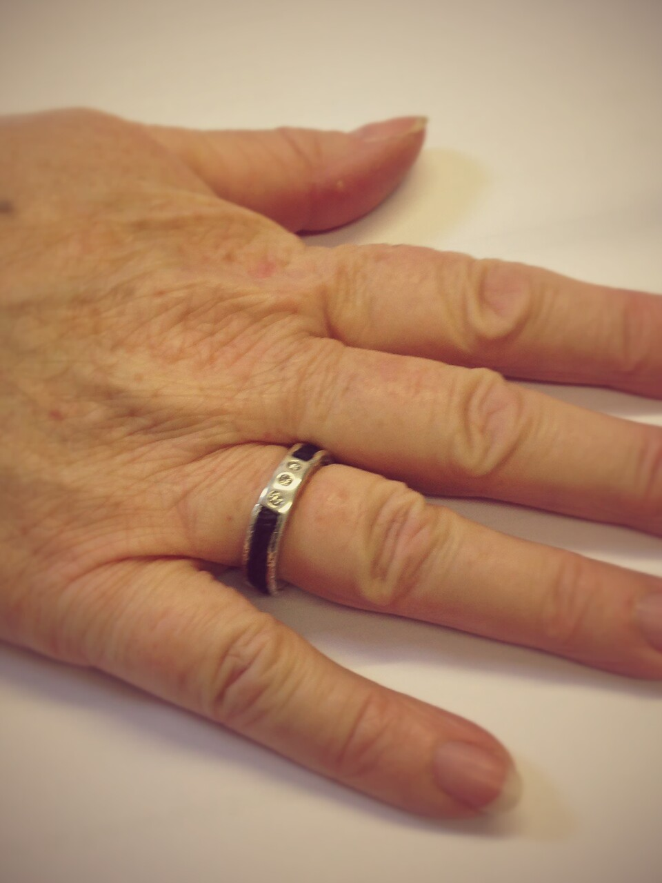 Kirsten Manzi Jewellery Horse Hair Ring