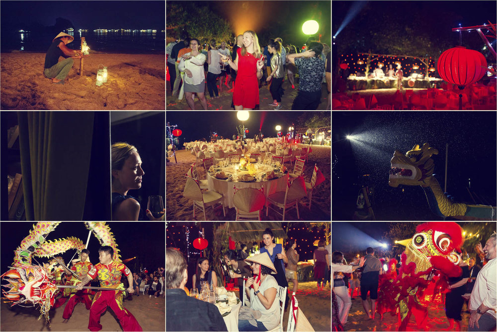 Luxury event on Titop Beach in Halong Bay | Vietnam MICE Photographer | Francis Roux Events Photography