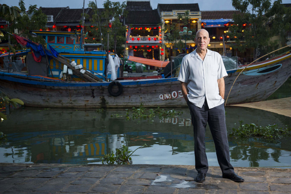 Editorial portrait of Neal F. Bermas in Hoi An | Vietnam Portrait Photographer Francis Roux