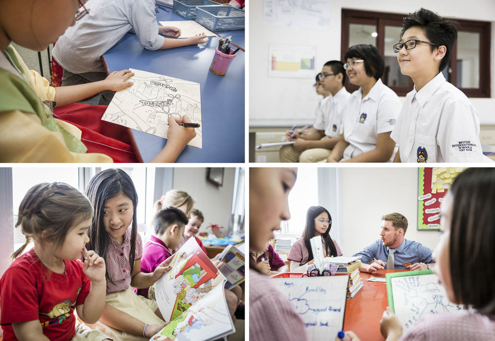 British International School in Hanoi, Vietnam | Francis Roux photographer Portfolio
