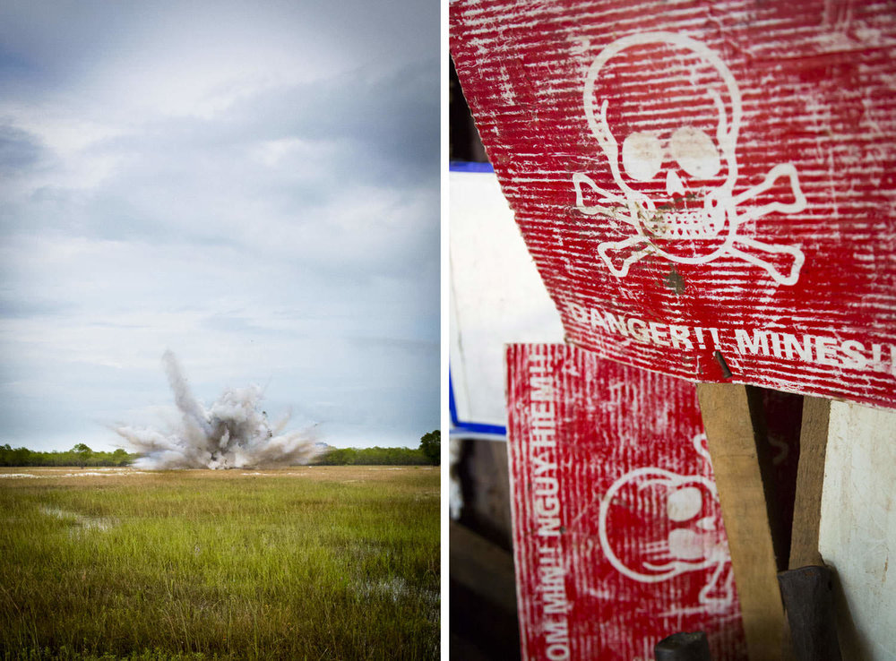 Bomb disposal with RENEW Project | Vietnam NGO Photographer | Francis Roux Photography