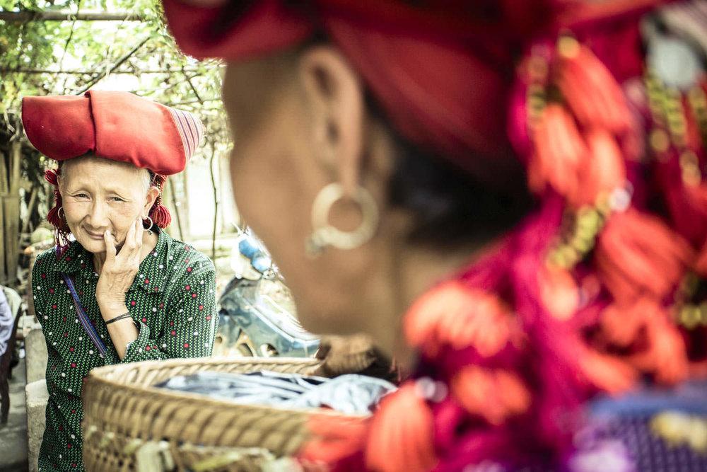 Portrait of an elderly Hmong | Vietnam documentary photographer