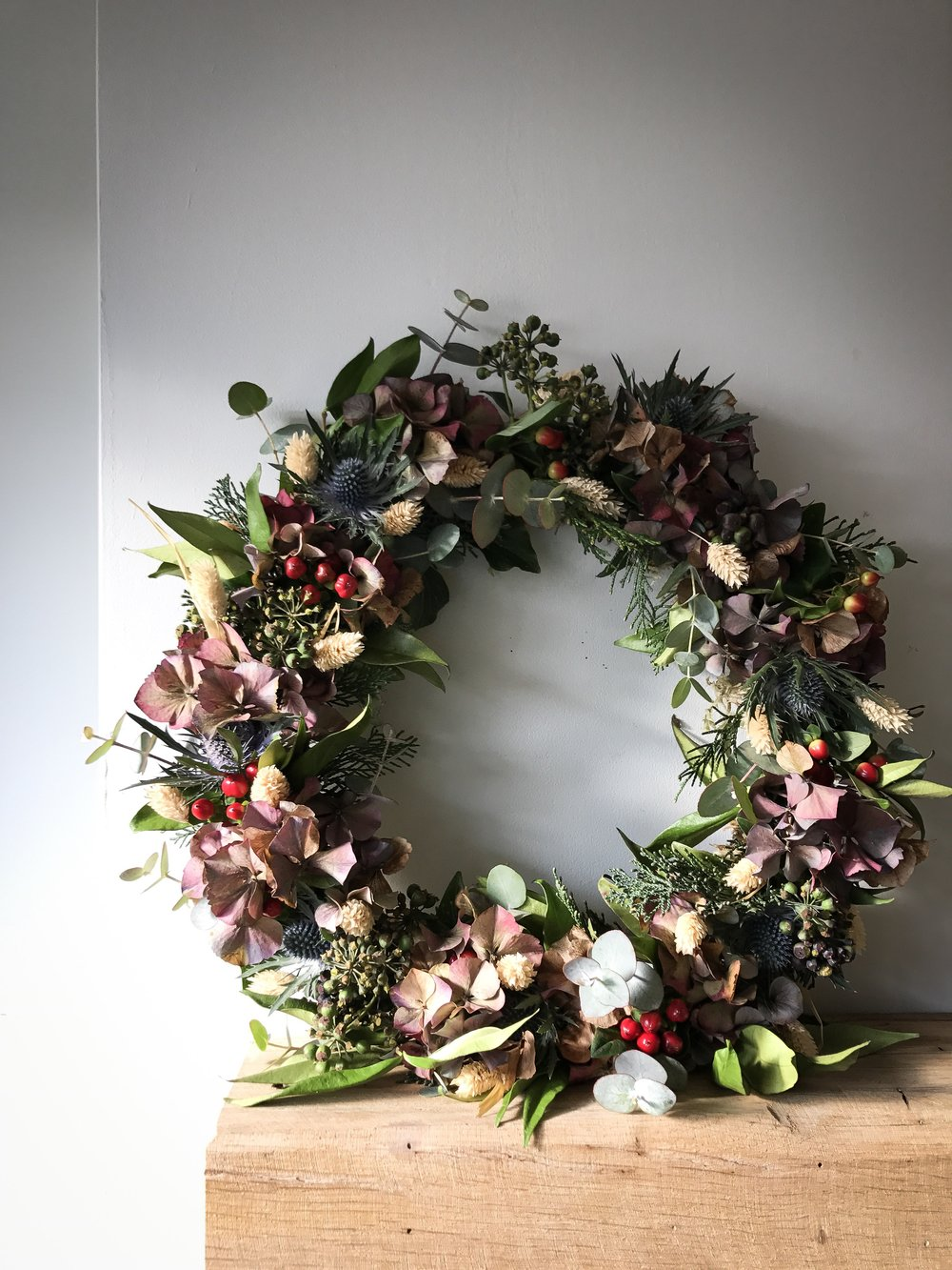 Wreaths will be a big part of how I stay occupied this Winter