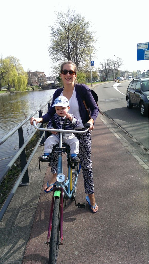 Cycling the canals